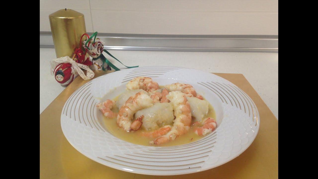 Crema de rape con gambones y langostinos monsieur cuisine for Rape de cuisine