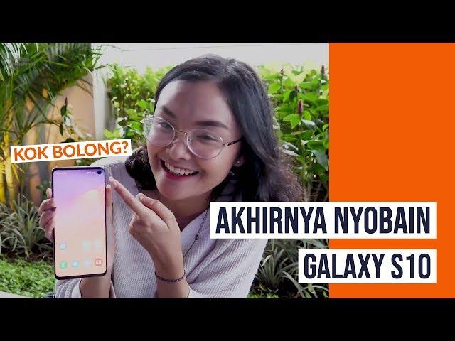 Hani On Tech: Jajal Kamera Samsung Galaxy S10 di Rooftop Senayan