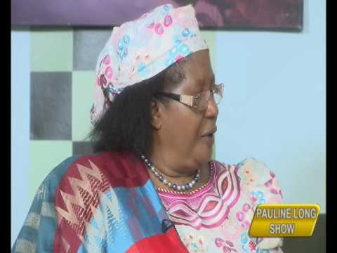 PAULINE LONG SHOW INTERVIEW WITH HE JOYCE BANDA FORMER PRESIDENT OF MALAWI