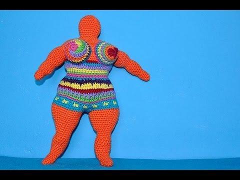 How To Crochet Amigurumi Arms : How to Crochet Amigurumi Nana - a tribute to Niki de Saint ...