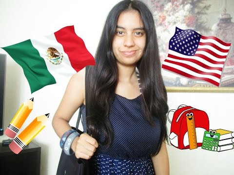 My Typical School Day: MEXICO TO USA!