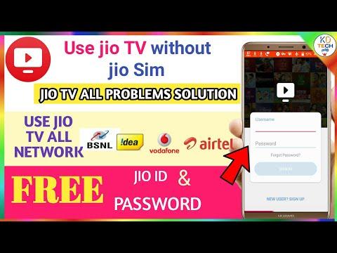 Use Jio TV Without Jio Sim   Jio TV Free ID & Password   Jio Tv   Tamil   #KDTECH