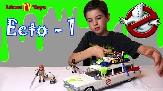 Awesome! Playmobil Ecto-1 Play Set 9220 Unboxing and Build