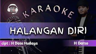 halangan diri - karaoke lirik || darso