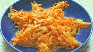 Пряный морковный салат видео рецепт UcookVideo.ru