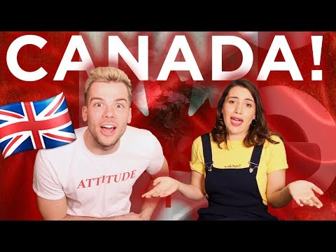 🇬🇧10 DIFFERENCES BETWEEN CANADA AND THE UK 🇨🇦