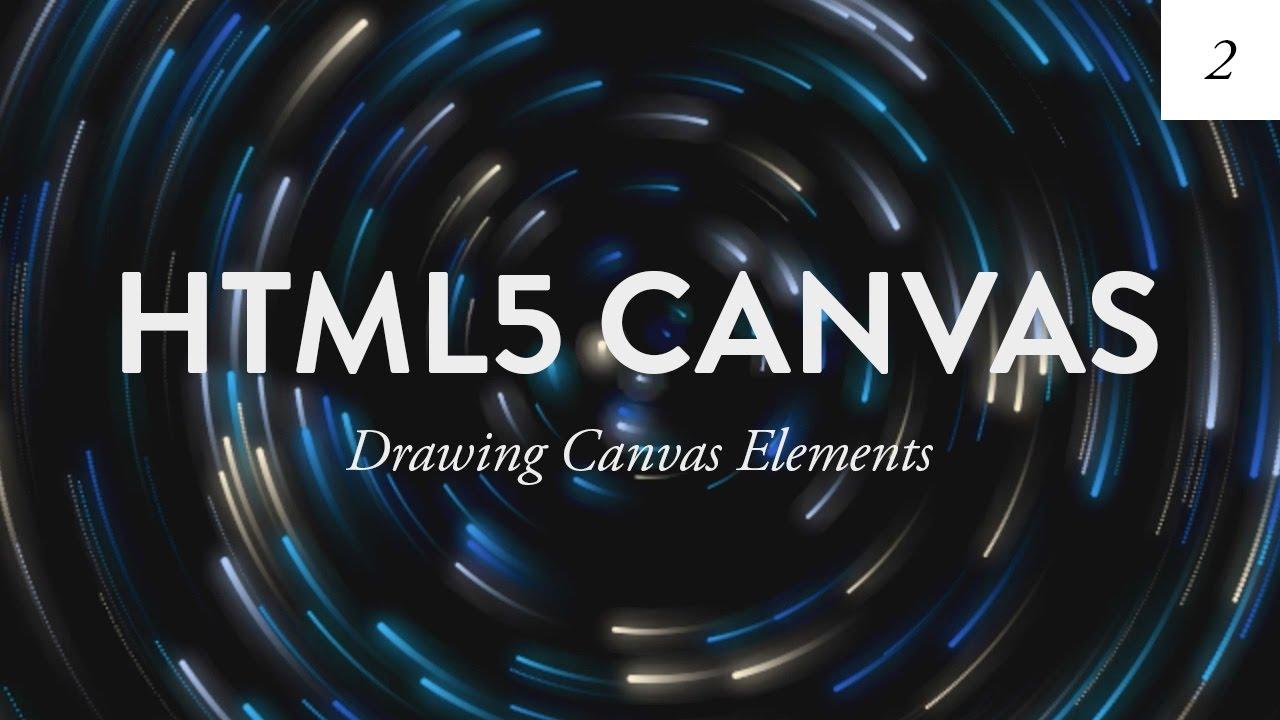Create basic shapes using html5 canvas | html canvas shapes.
