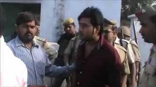 सपा विधायक रामेश्वर यादव के भतीजे पुष्पेंद्र यादव का खुला चैलेंज पुलिस को ..