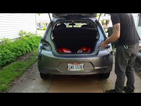 20132017 Mitsubishi Mirage Trailer Hitch Install YouTube