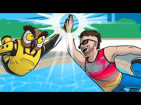 GTA 5 Fun - Epic Diving High Fives! (Grand...