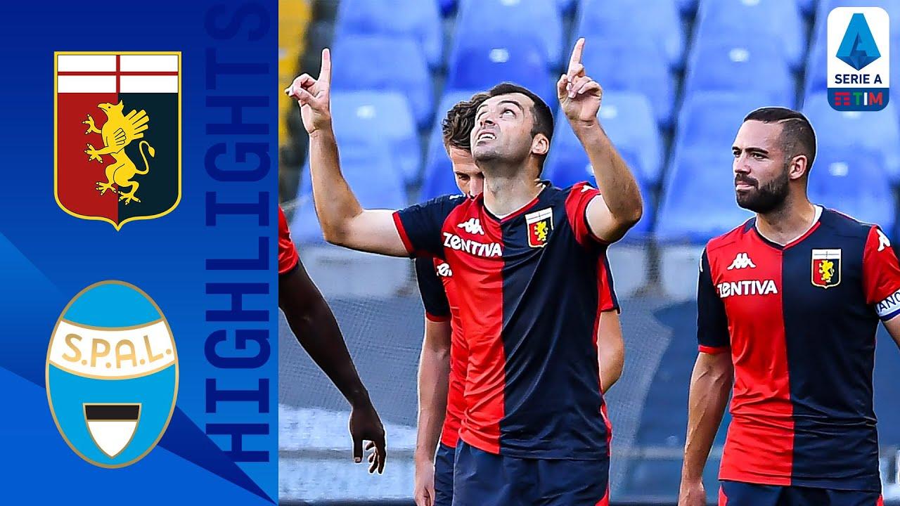 Genoa 2-0 SPAL | Pandev and Schöne Goals Give Genoa Victory | Serie A TIM