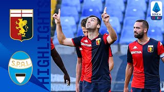 Genoa 2-0 SPAL | Pandev and Schöne Goals Give Genoa Victory | Serie A TIM