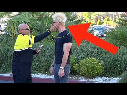 SECURITY GUARD PUNCHED ME!!! (Not Clickbait!) Magic Pranks 2018