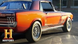 Counting Cars: Danny Reveals the Restored Mustang | History