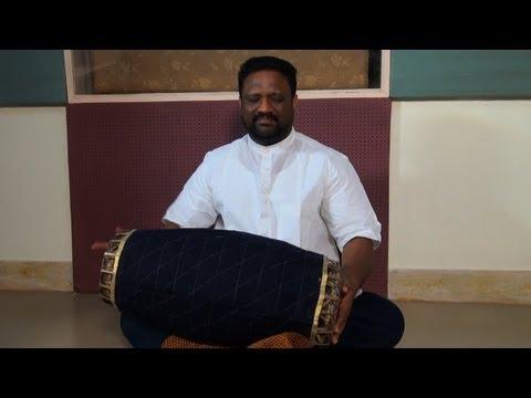 Neyveli B Venkatesh playing Mridangam