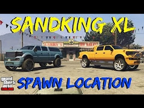 GTA 5 Online Modded Sandking XL Rare car location (after patch 1.37) from YouTube · Duration:  11 minutes 18 seconds