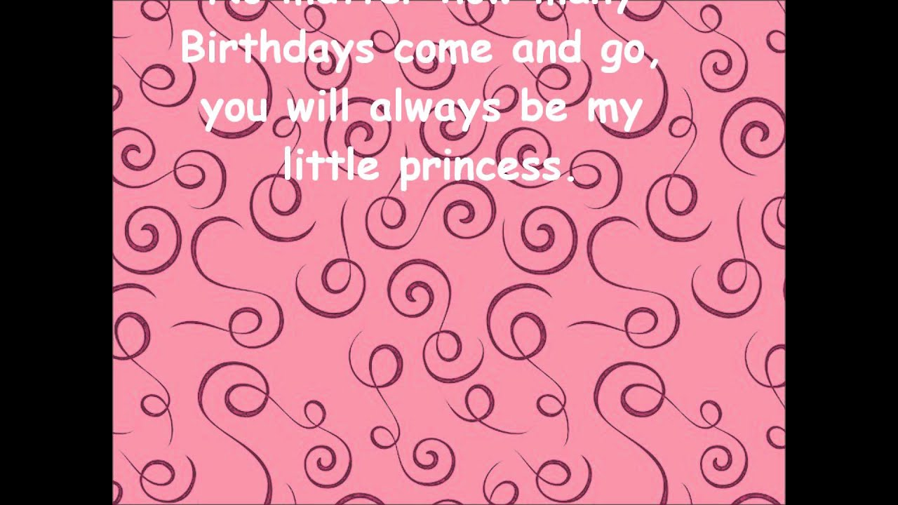 Quotes 21St Birthday Happy Birthday Greetings For Daughter  Youtube