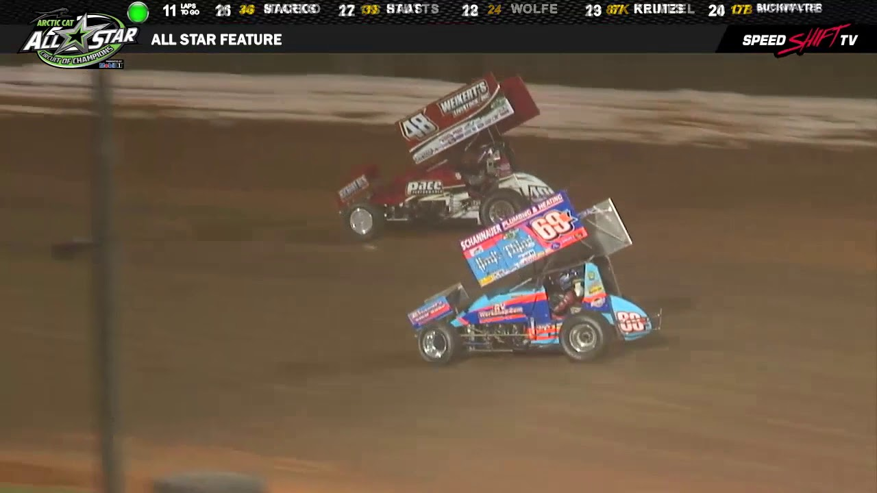 All Star Sprints >> All Star Sprints Feature Highlight Williams Grove Speedway 3 13 18