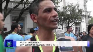 0375 CARINA BENITEZ Y ANGEL GONZALEZ   XXVIº  Corrida 10K Reconquista Santa Fe
