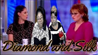 Diamond and Silk put Joy Behar from The View in check.