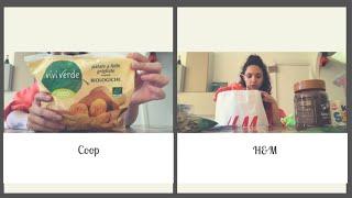 Spesa alla Coop e Haul H&M