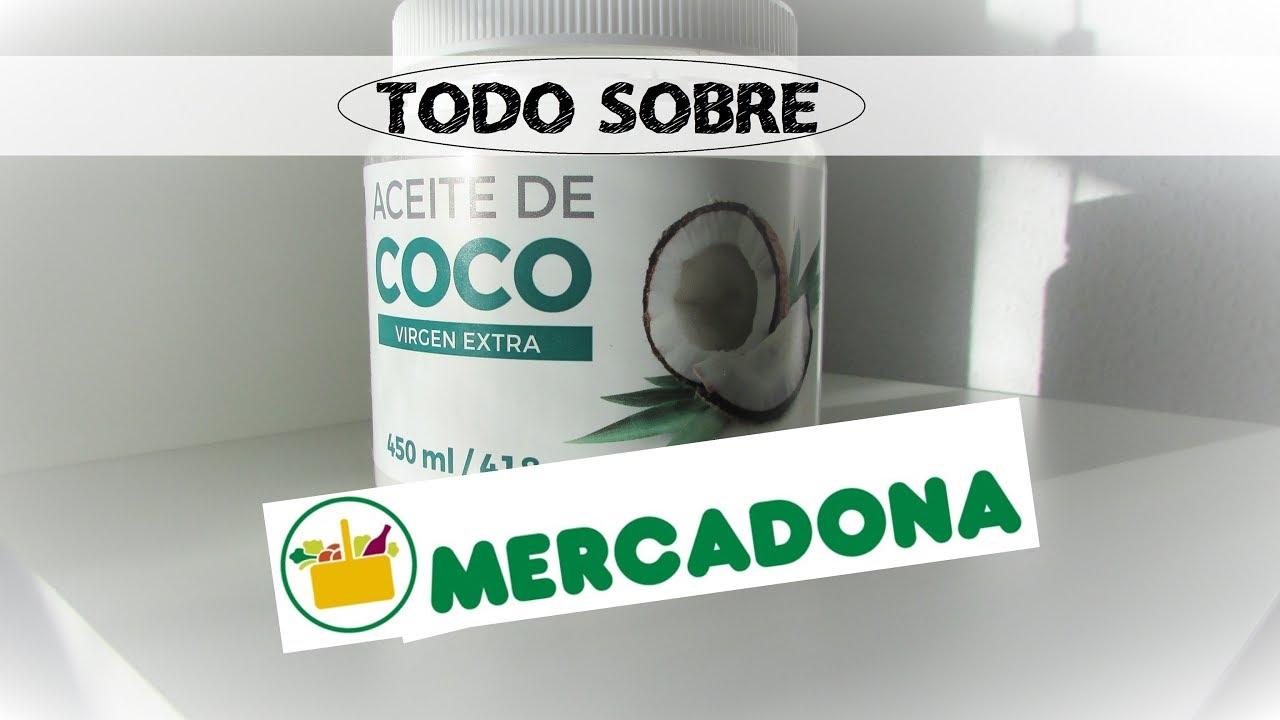 Aceite De Coco De Mercadona Es Bueno Realmente Youtube
