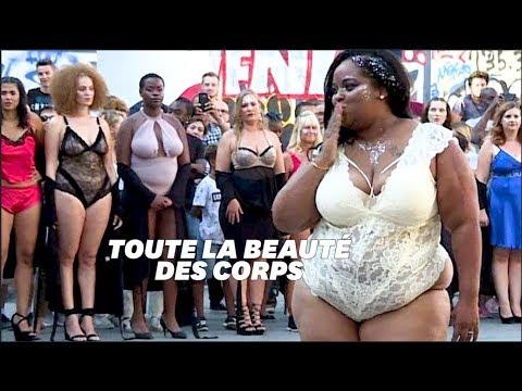 """Le défilé """"Body positive"""" à Paris s'est attaqué aux canons de la mode"""