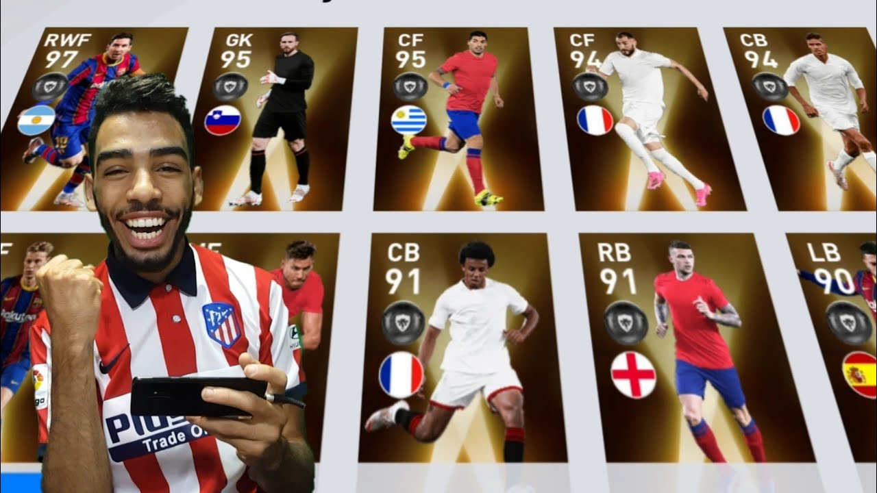FANS' CHOICE : SPANISH LEAGUE PACK OPENING + GAMEPLAY EFOOTBALL PES 2021 MOBILE