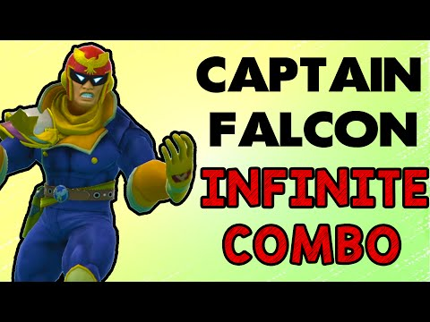 Captain Falcon's Infinite Combo! (Smash Wii U/3DS)