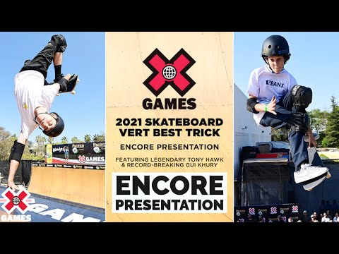 PACIFICO SKATEBOARD VERT BEST TRICK with TONY HAWK | X Games 2021