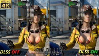 Final Fantasy XV Windows Edition DLSS ON VS OFF |  RTX 2080 Ti | i7 8700K 5.3GHz