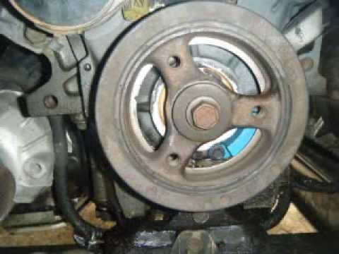 Remove And Replace The Front Crankshaft Seal Impala 3 4l