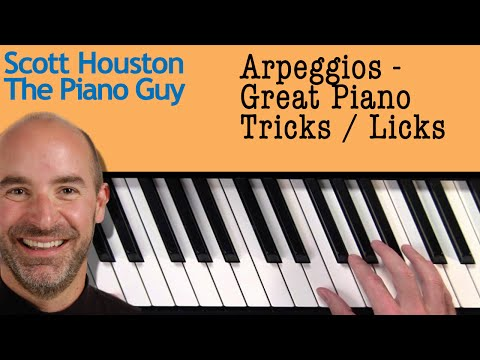 Arpeggio - How and Why to Use on a Piano