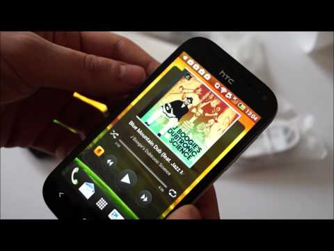 HTC One SV Hands On bzw. Test Deutsch HD
