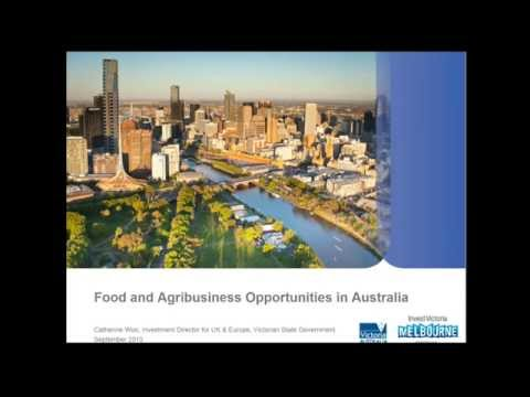 Business Opportunities for British Companies in Australia's Food and Agribusiness Market