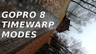 GoPro Hero 8 TimeWarp 2.0 Testing - All Modes (Day & Night Samples)