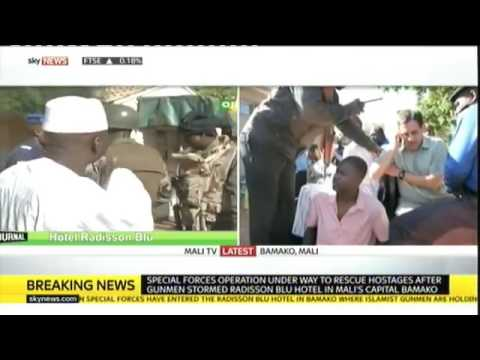 Breaking News Mali Hotel Attack  Gunmen Take 170 People Hostage in Bamako, Special Force Enter
