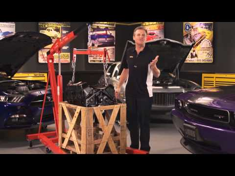 JEGS Crate Engines Ford Chevy Mopar Blueprint Edelbrock Performance With Kenny Wallace