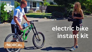 Instant e-bike: electric bike conversion kits