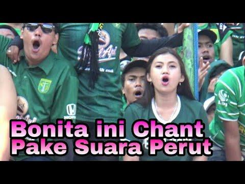 Lihat..!! Ga hanya Bonek, Bonita juga bisa Chant Pake suara Perut | Persebaya vs Arema