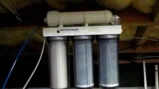 bulk reef supply ro di 5 stage unit and aquatec 8800 booster pump and rodi unit part 1 001 mov