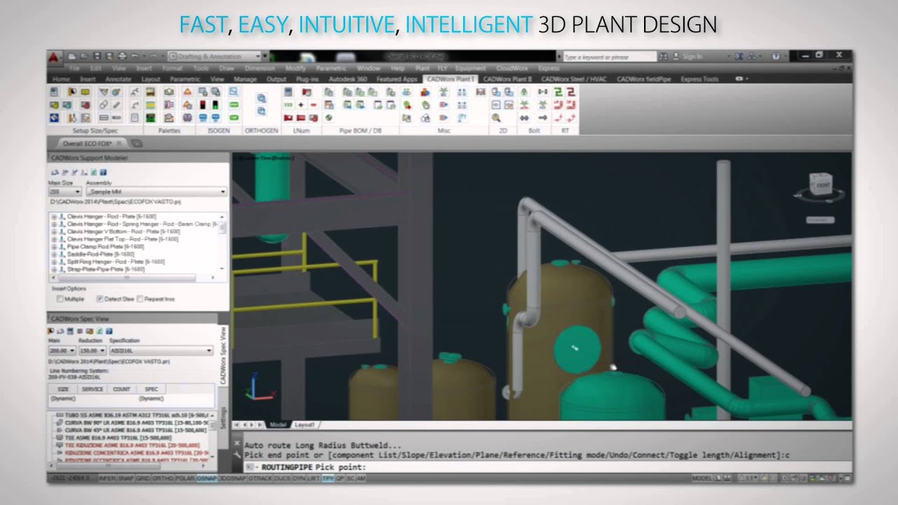 Intergraph Cadworx Plant Design Analysis Solutions For Better Brownfield Project Execution Youtube