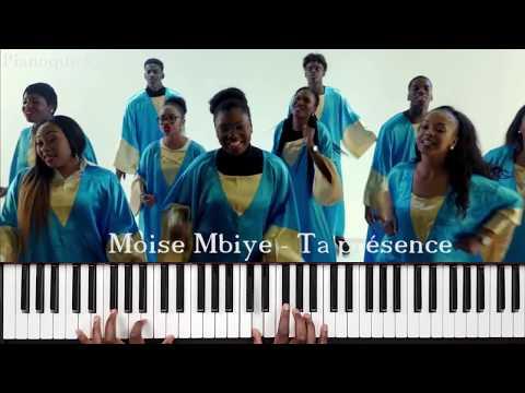 Moise Mbiye - Ta présence: Tutoriel débutant PIANO QUICK