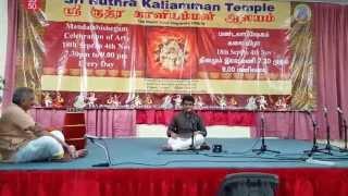 Sri Saraswathi Namosthuthe - Kishore at Sri Ruthra Kaliamman Temple