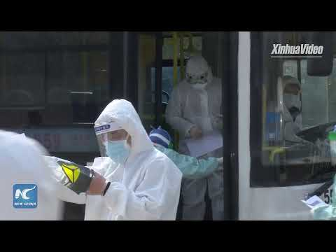 LIVE: Coronavirus Hospital Takes In More Patients In Wuhan, China