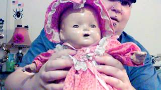 Unboxing A Rare 1927 Kiddie Hug Me Pal Baby Doll