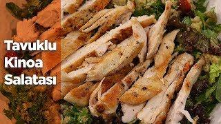 Tavuklu Kinoa Salatası Tarifi   beIN GURME   İdil Yazar