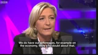 Marine Le Pen on Muslims and Nigel Farage