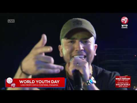 "Catholic Hip-Hop LIVE at World Youth Day - FoundNation Performs ""YEAH!"""