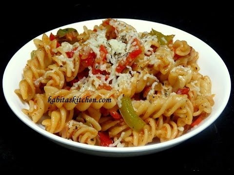 Vegetable Cheesy Pasta Recipe